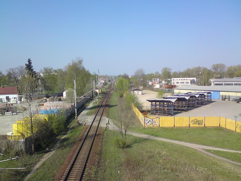 Vjezd do Slezského před.