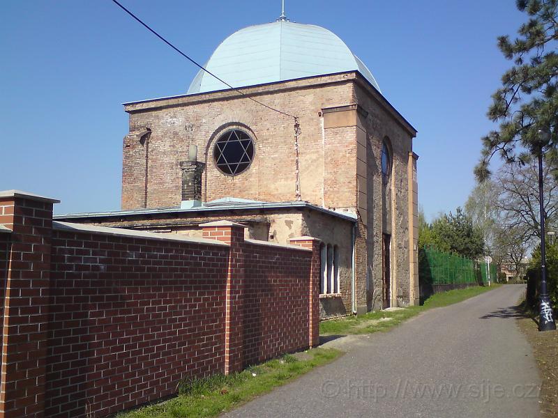 Synagoga u hřbitova