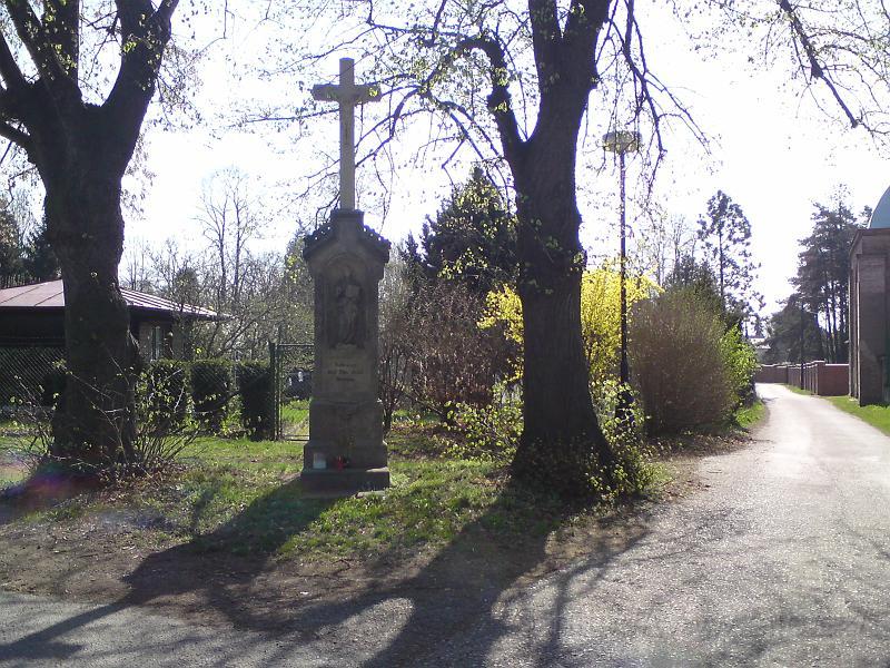 Křížek u žid. hřbitova
