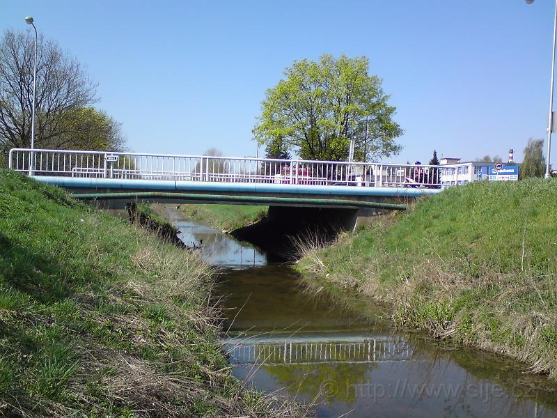 Most, Piletický potok