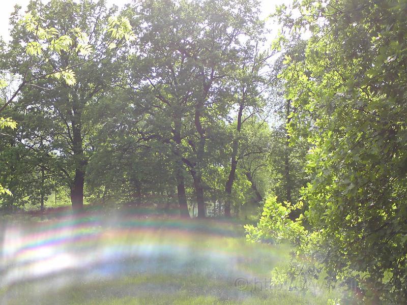 Duha bez deště