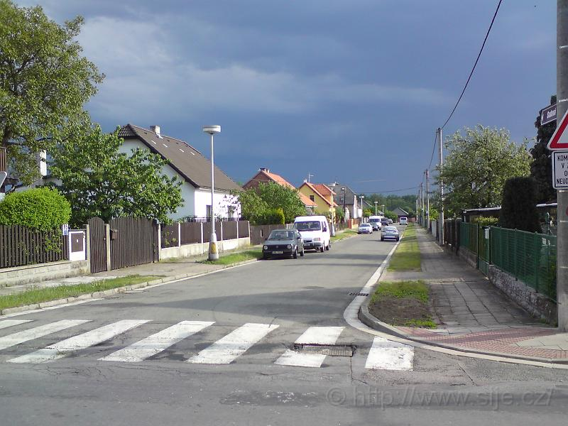 Ulice Sadová, M. Lhota