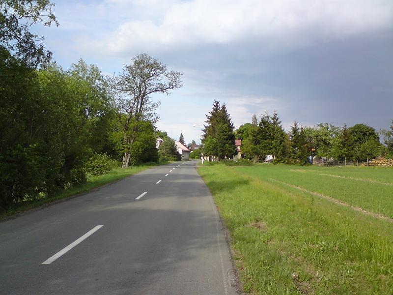 Příjezd do Svinar