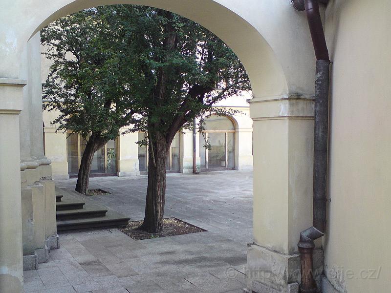 Konec ulice Zieglerova