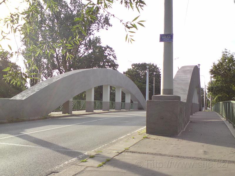Malšovický most, Orlice