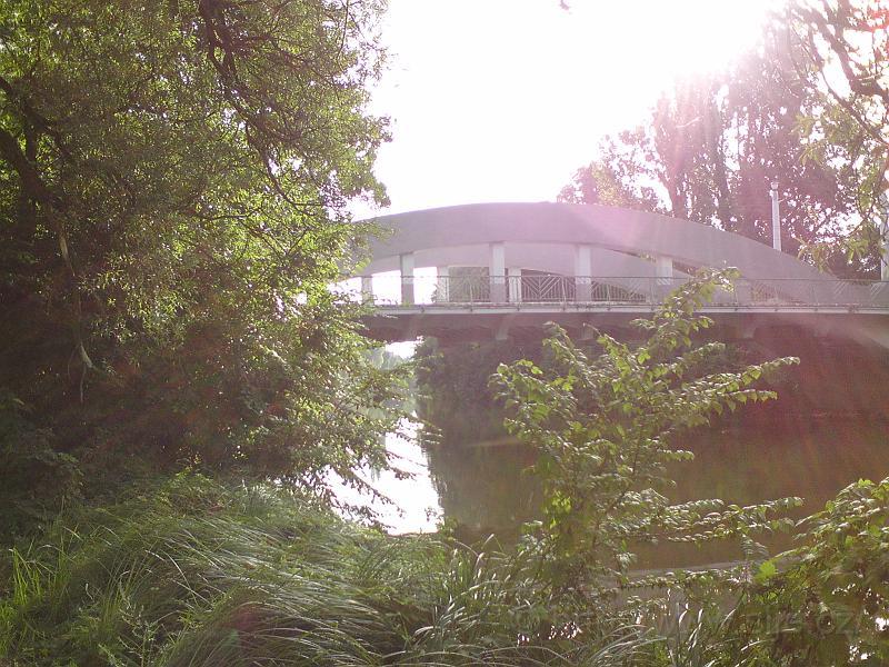 Malšovický most a Slunce