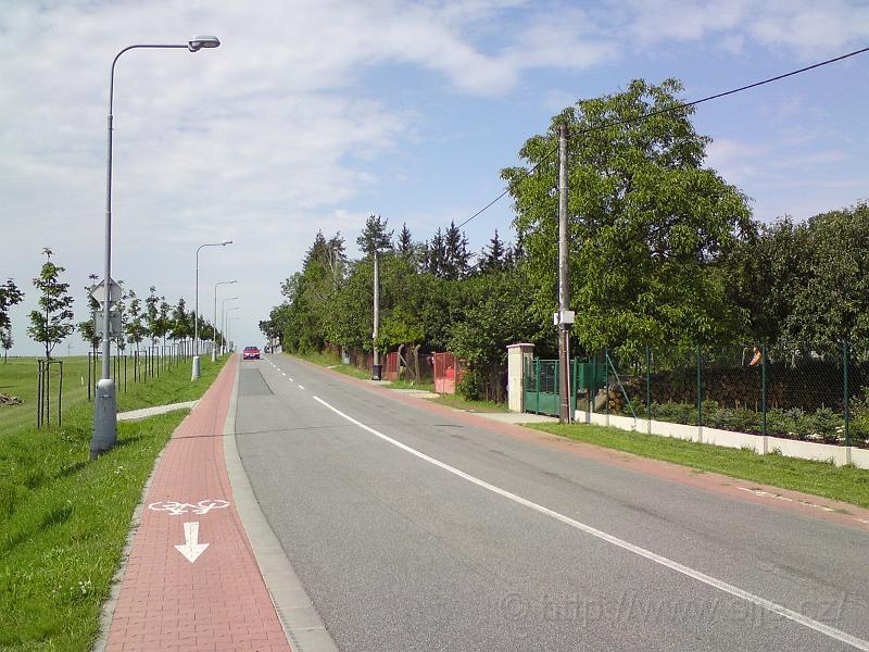 Ulice Roudničská u golfu