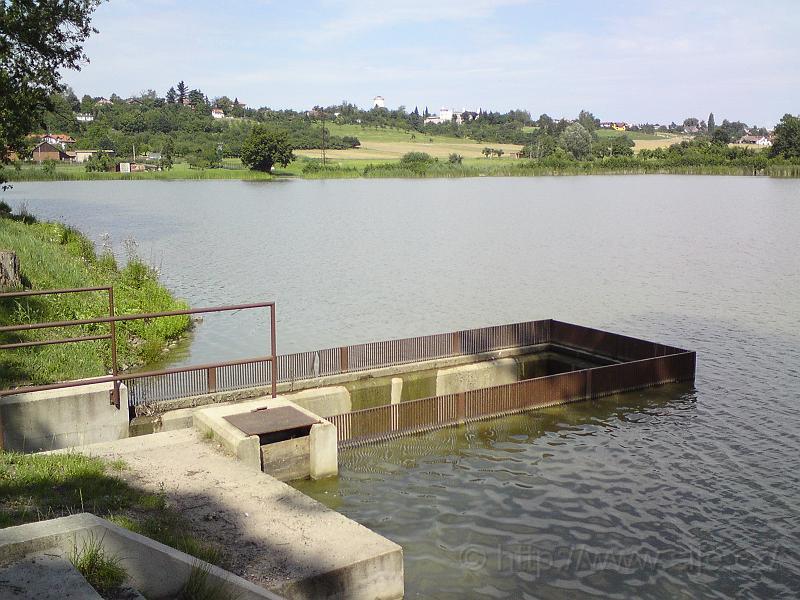 Přepad rybníku Roudnička