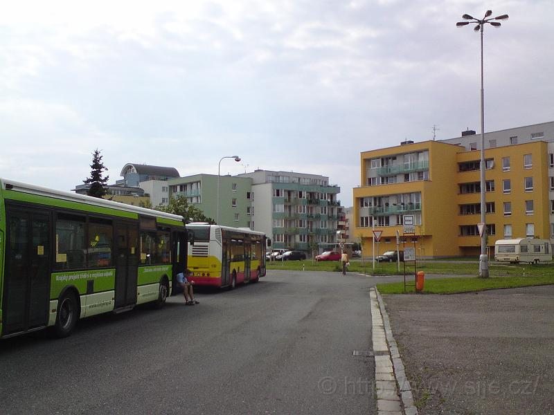 Točna MHD Podzámčí