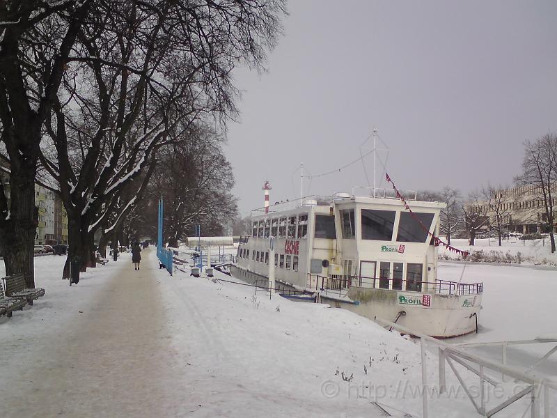Čechie na zamrzlém Labi