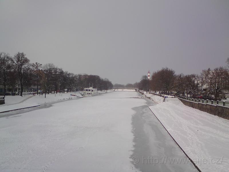 Zimní Labe