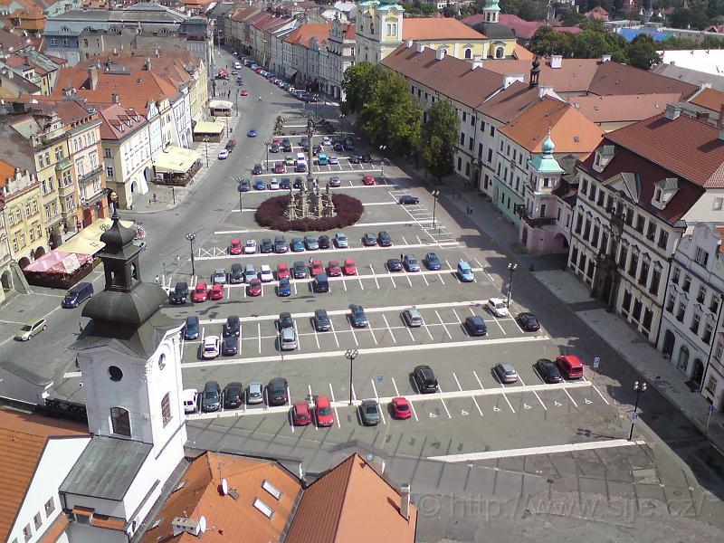 Velké náměstí shora