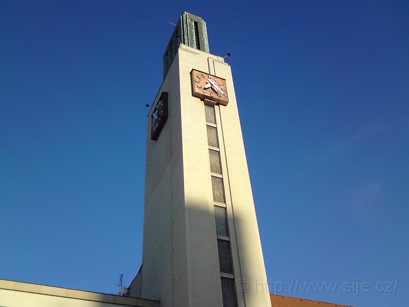 Věž hlavního nádraží