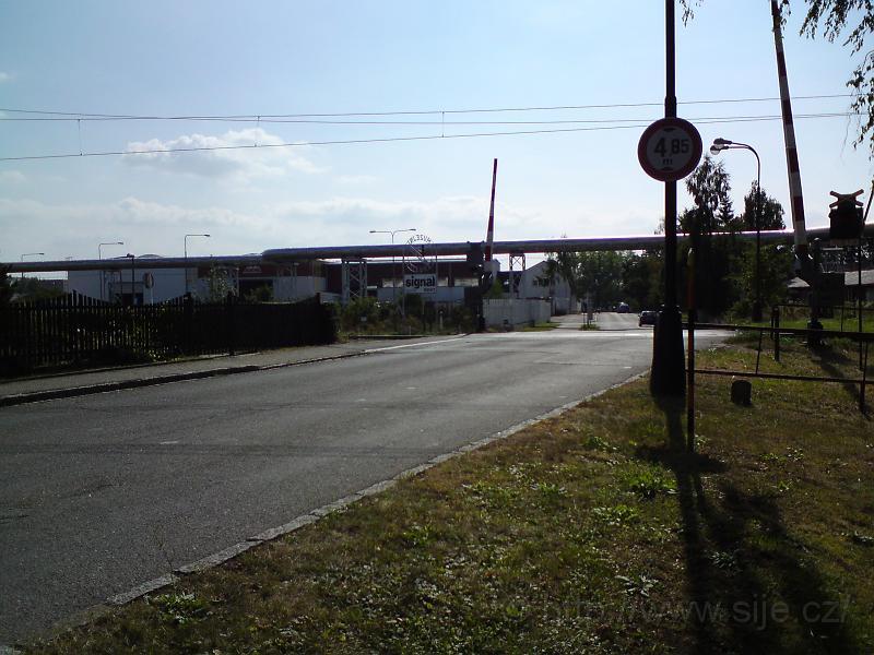 Přejezd, ul. Kydlinovská