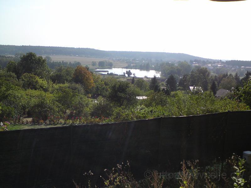 Rybník Roudnička shora