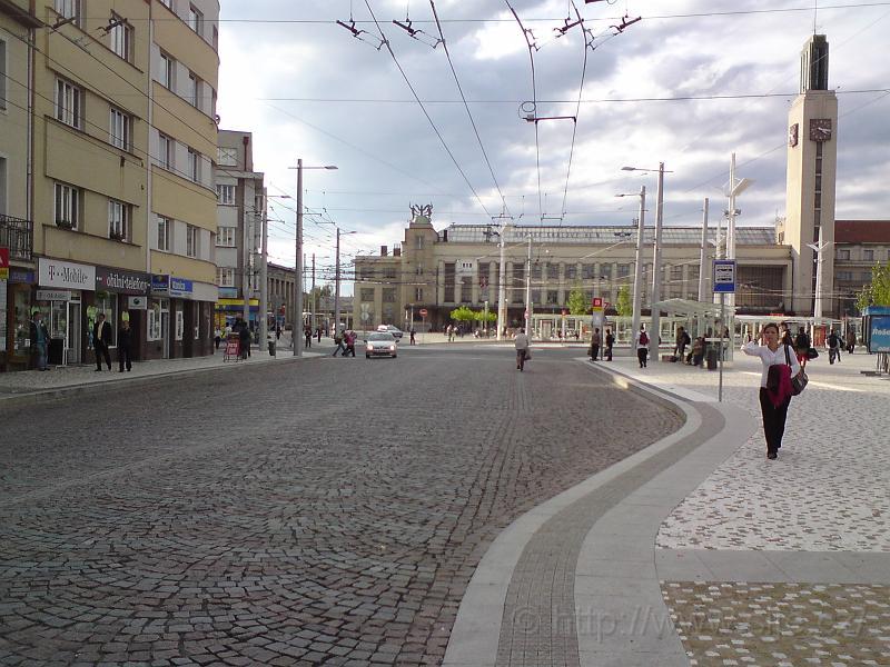 MHD Hlavní nádraží