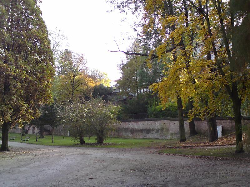 Podzimní Žižkovy sady