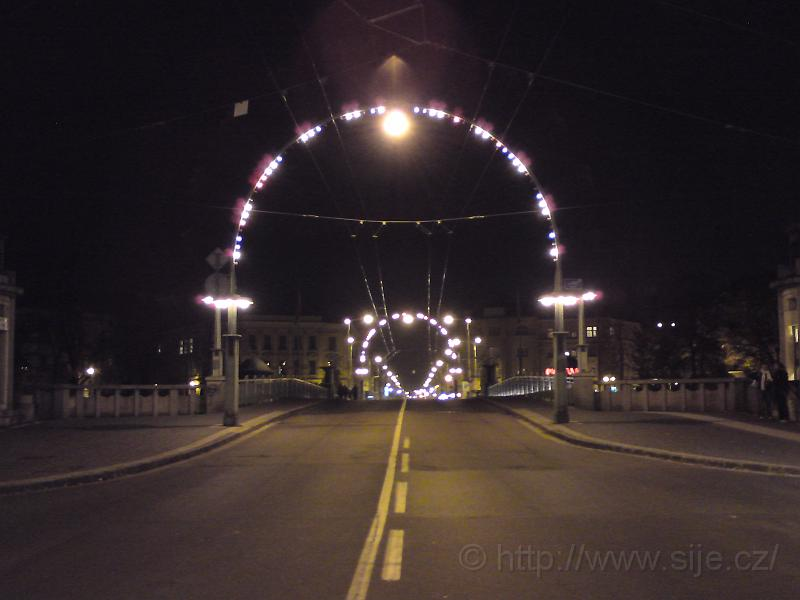 Osvětlený Pražský most