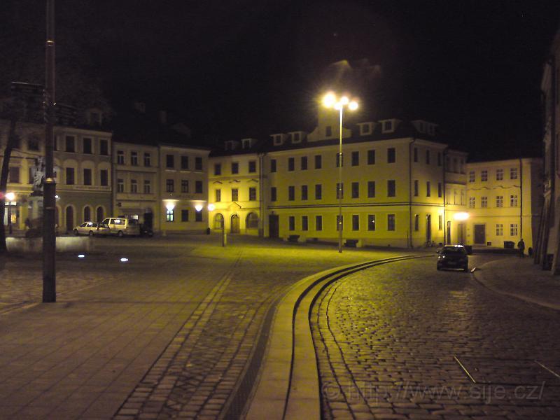 Malé náměstí shora