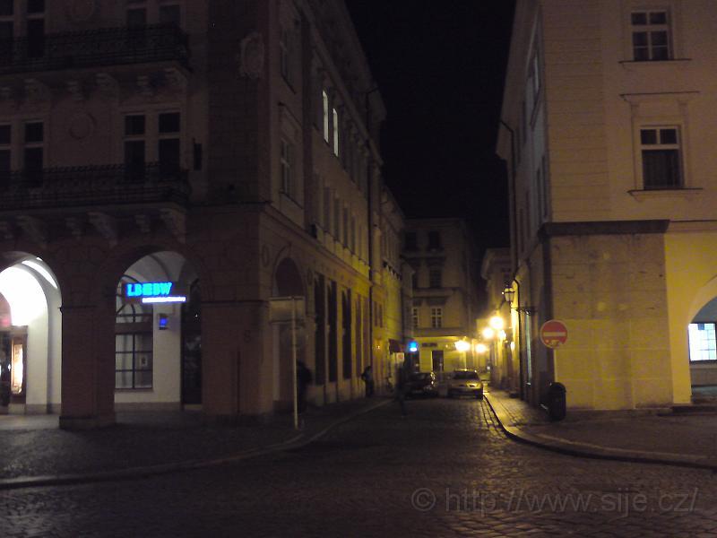 Ulice Špitálská od nám.
