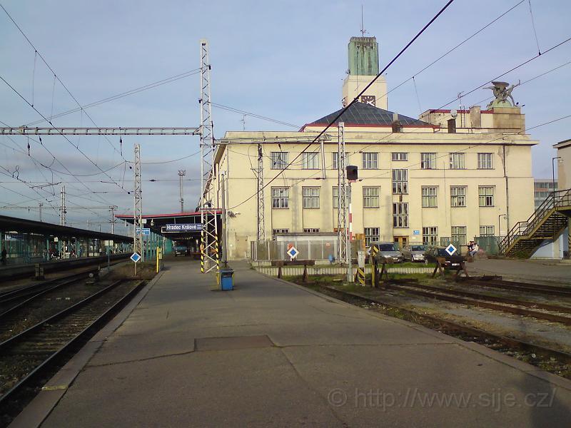 Budova hlavního nádraží