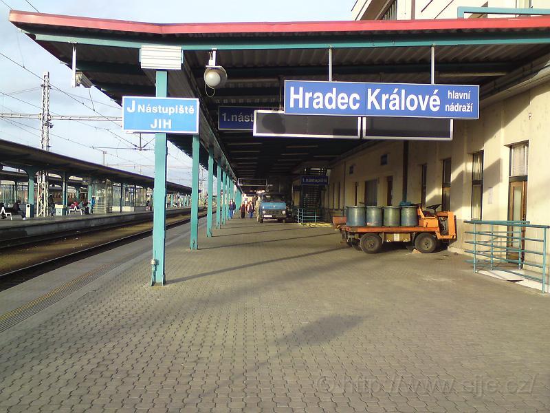 Hl. nádr., 1. nástupiště