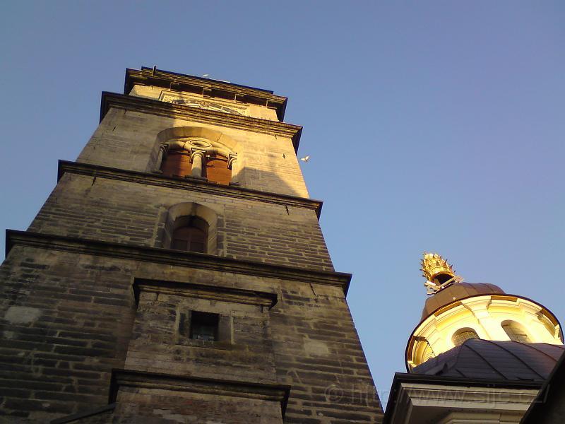 Bílá věž a sv. Kliment