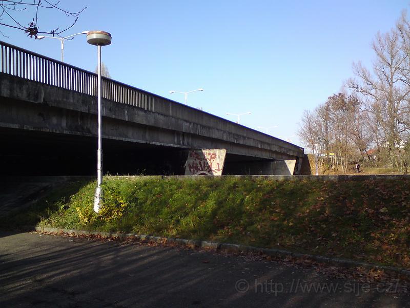 Orlický most na podzim