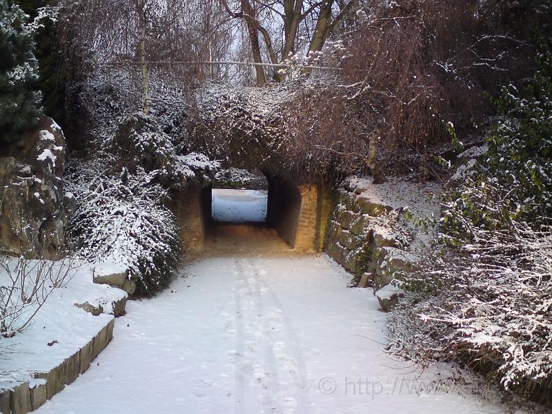Zimní poterna