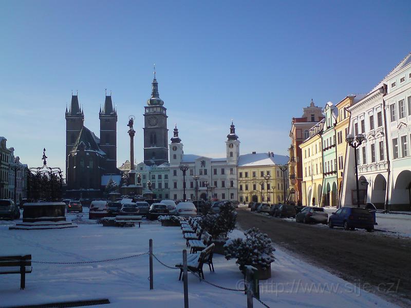 Zimní Velké náměstí