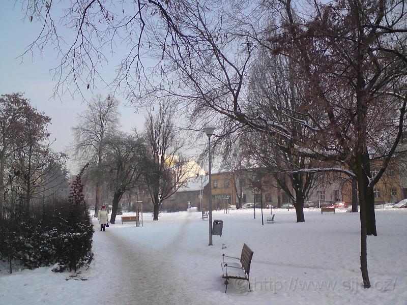 Sněhové rozcestí