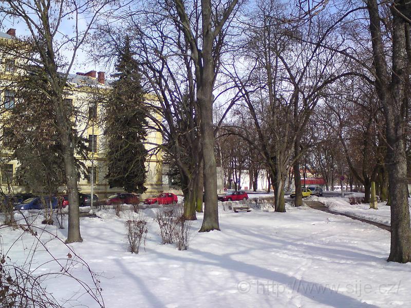 Zima u staré nemocnice