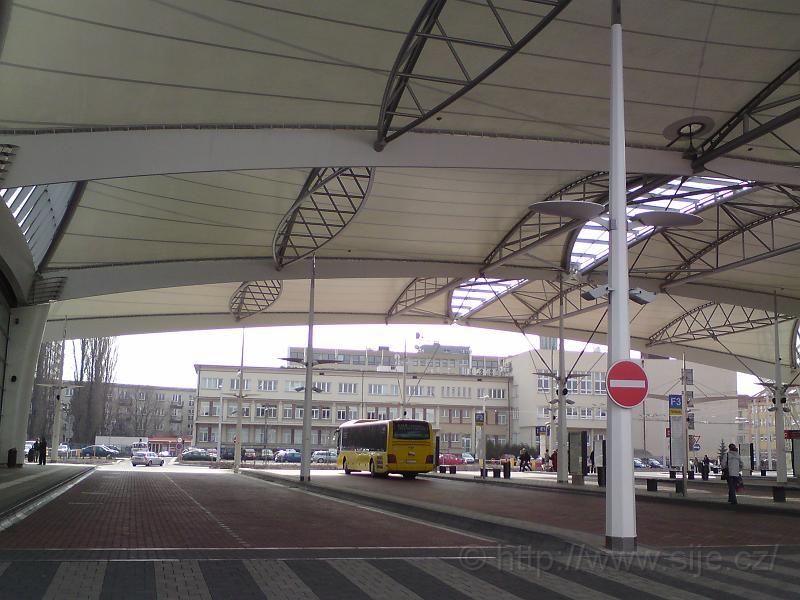 Autob. část terminálu