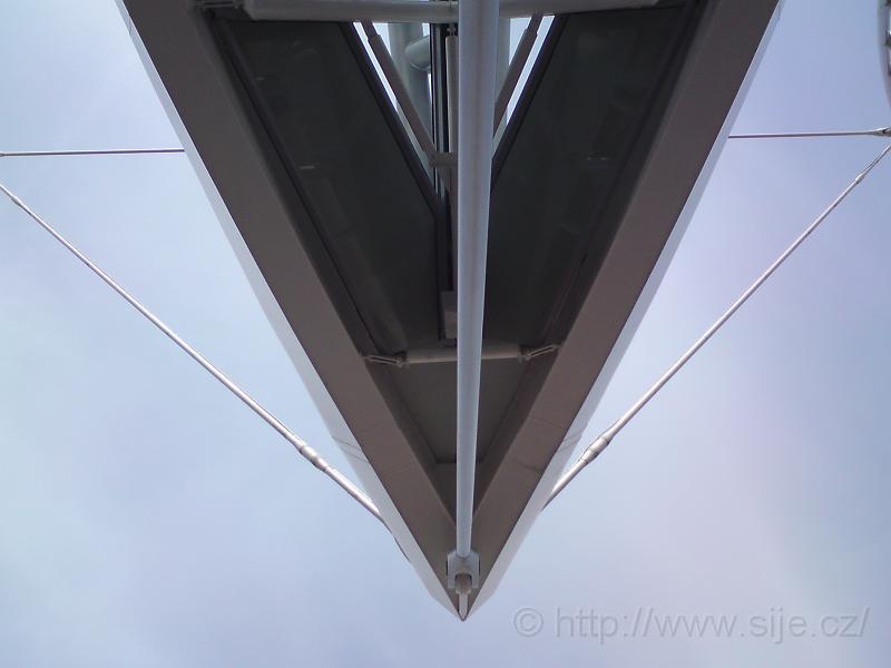 Nosník střechy terminálu