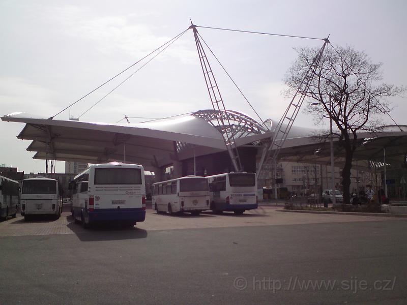 Parkoviště autobusů HD