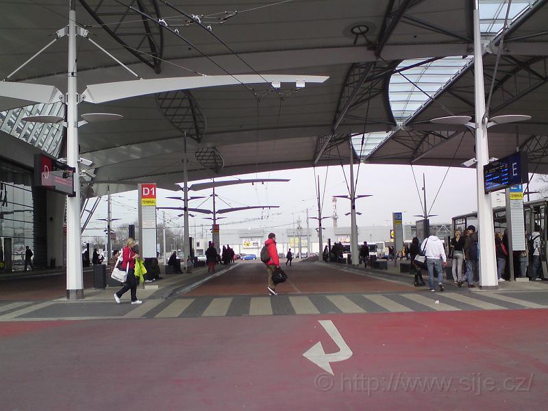 V autob. části terminálu