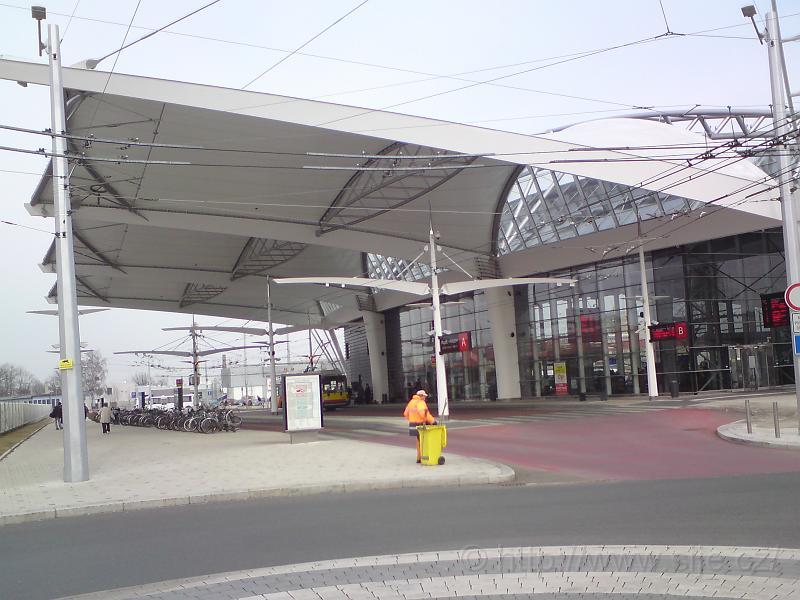 Výstupní místo terminál