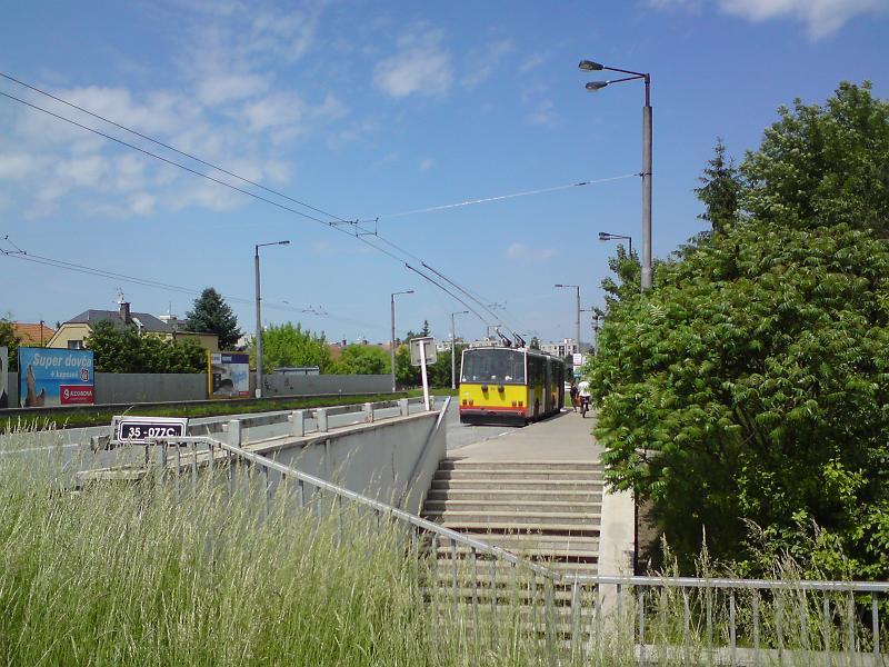 Trolejbus Na Plachtě